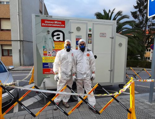 Retirada de amianto en tejadillos de comunidades